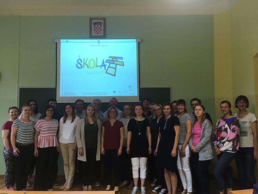 Prvi savjetnički posjeti školama u eksperimentalnom programu