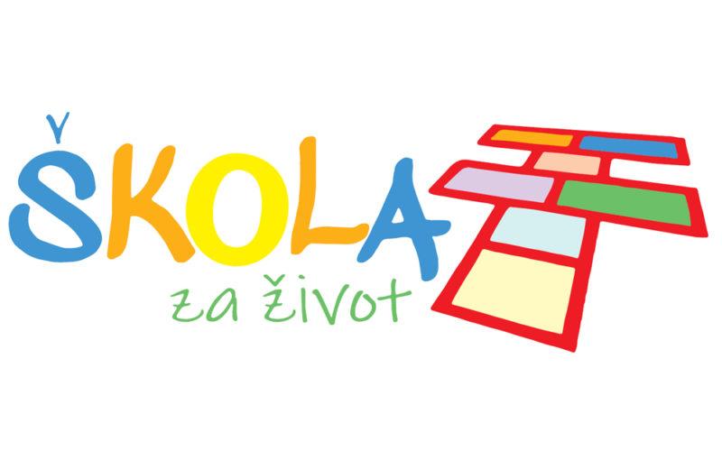 Logotip projekta – Škola za život