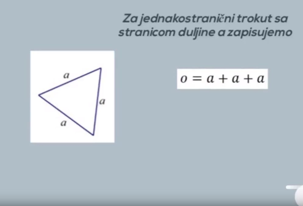 Vrijednost algebarskog izraza II
