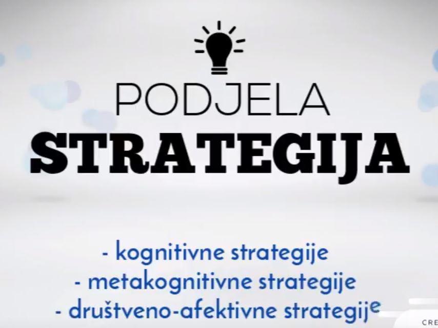 Strategije učenja jezika