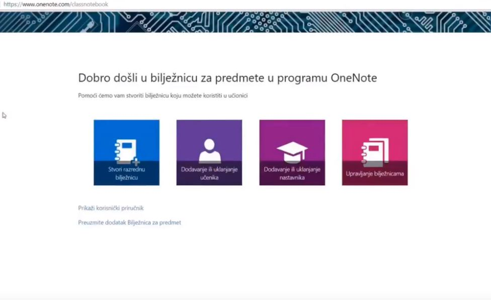 Digitalni alati – OneNote Class Notebook/Staff Notebook