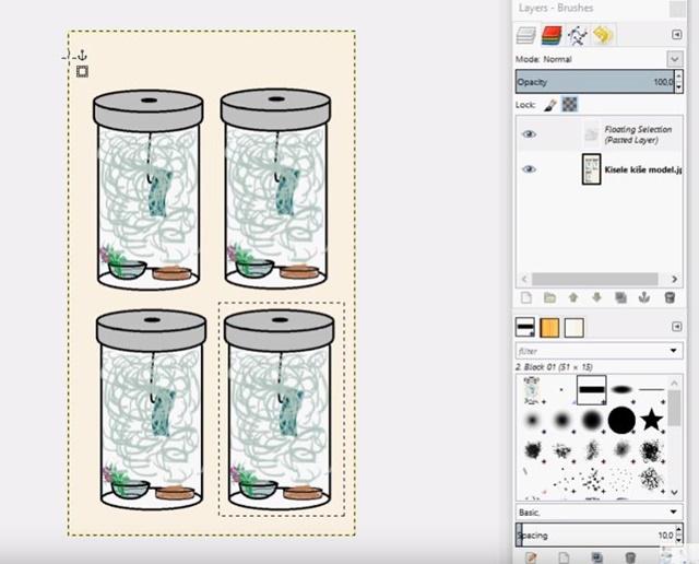 Digitalni alati – Početak rada u GIMP-u II