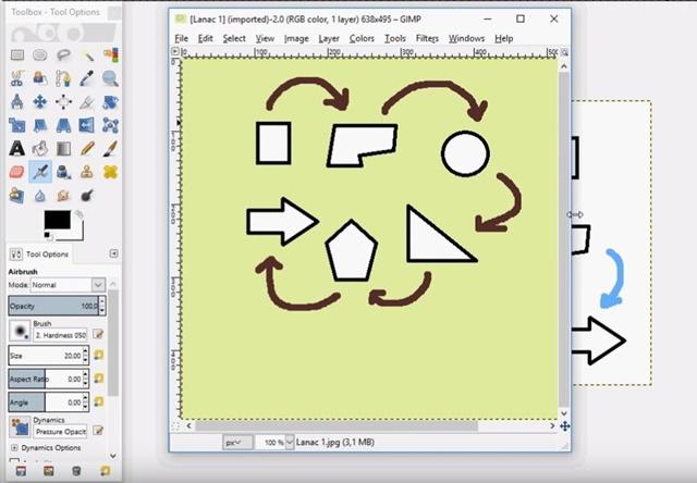 Digitalni alati – Početak rada u GIMP-u III