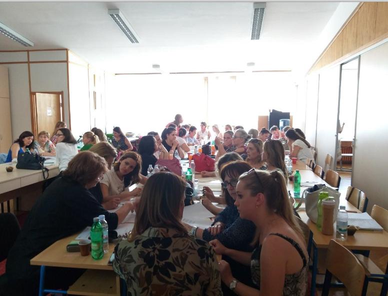 Talijanski jezik, skupovi uživo – priprema za frontalnu primjenu novih kurikuluma, lipanj i srpanj 2019.