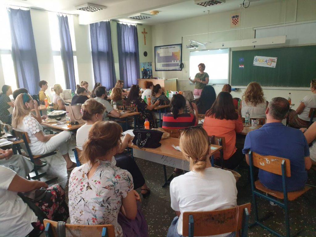 Njemački jezik, skupovi uživo – priprema za frontalnu primjenu novih kurikuluma, lipanj i srpanj 2019.