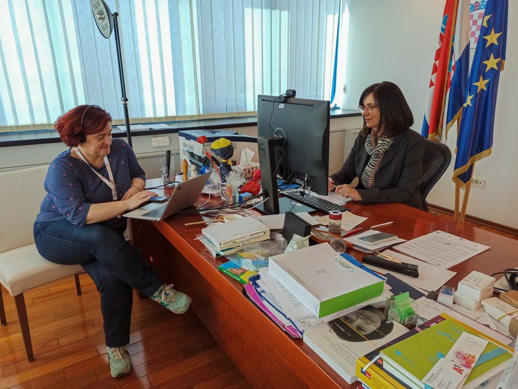 Sastanak s Ministricom
