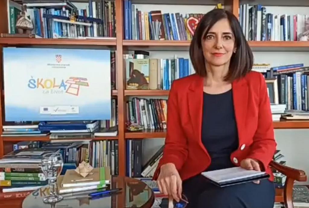 Roditeljski sastanak s ministricom prof.dr.sc Blaženkom Divjak